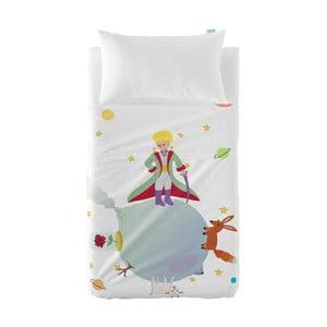 Dětský povlak na polštář a přehoz Mr. Fox Little Prince, 100x135 cm