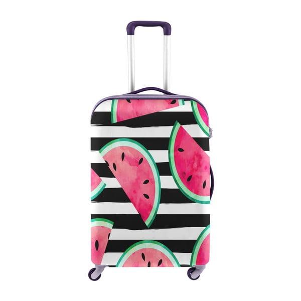 Obal na kufr s motivem melounů Oyo Concept, 67 x 43 cm
