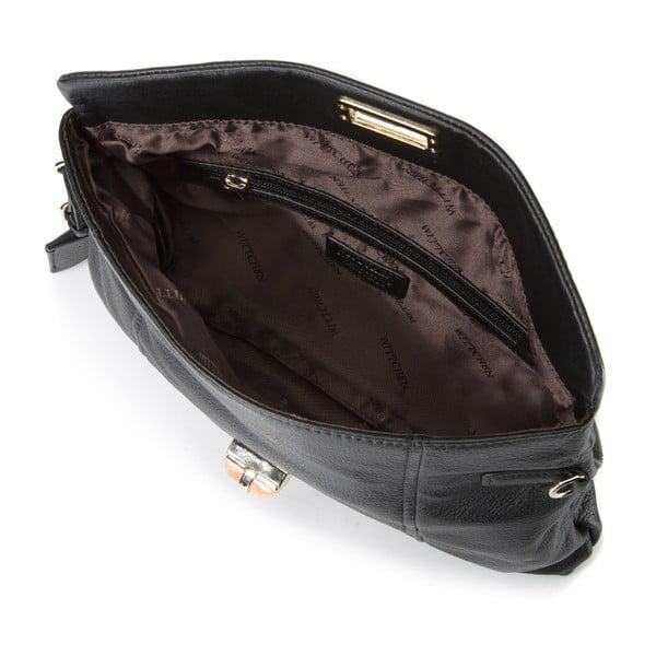 Kožená kabelka Elegance Small Black