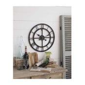 Nástěnné hodiny Orchidea Milano Industrial Rusty Black, 50 cm