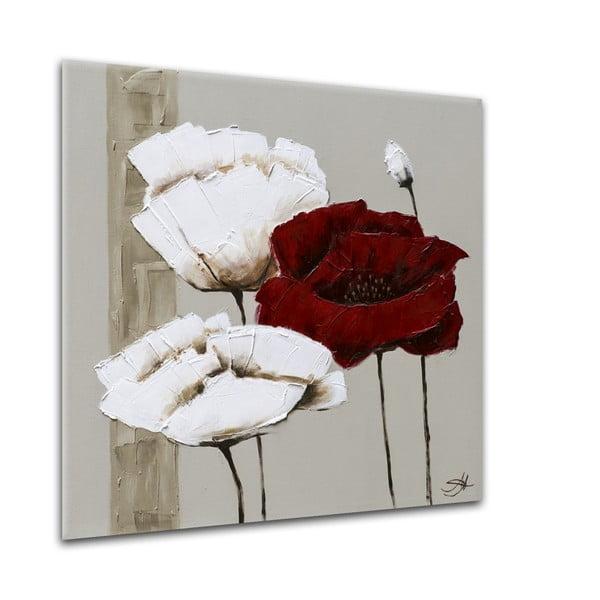 Obraz Styler Glasspik Flower A, 20×20 cm