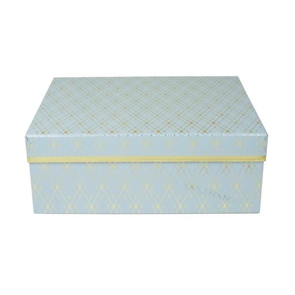 Modrá úložná krabice Tri-Coastal Design Stockholm