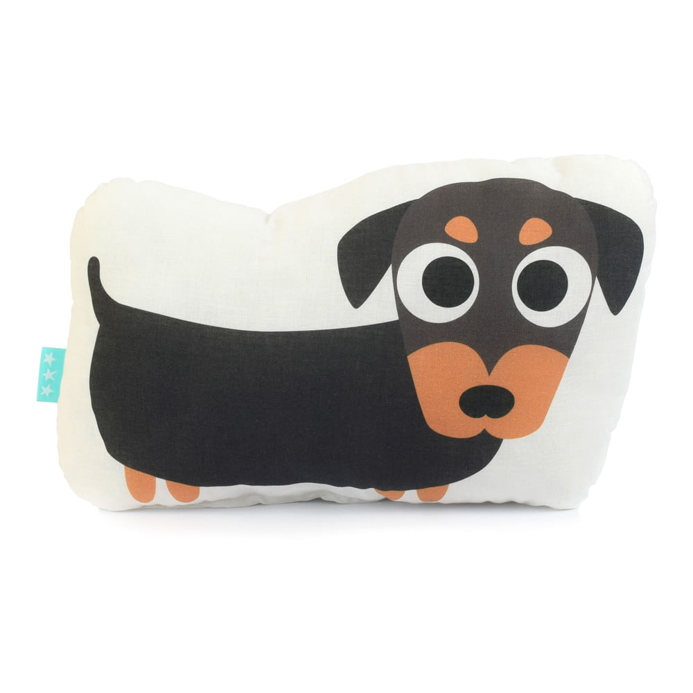 Bavlněný dětský polštářek Mr. Fox Dogs, 40 x 30 cm