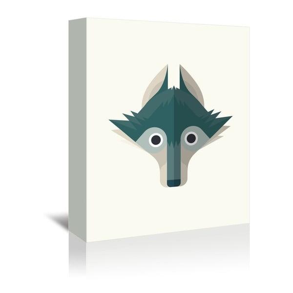 Obraz na plátně Wolf od Christiana Jacksona