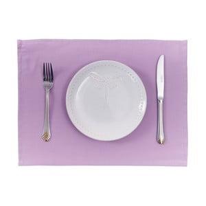 Sada 2 fialových prostírání Apolena Simple Purple, 33x45cm