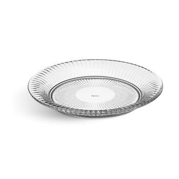 Farfurie din sticlă clară Kähler Design Hammershoi Glassplate, ⌀ 22 cm