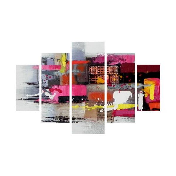 Abstract 5 részes fali kép