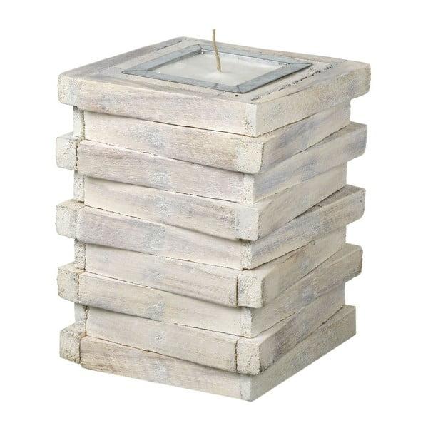 Svíčka Wood Stack