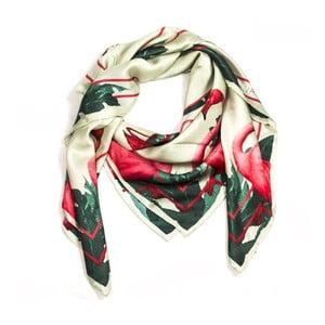 Hedvábný šátek Mingo, 130x130 cm