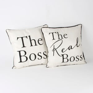Sada 2 polštářů Amore The Boss, 34x34cm