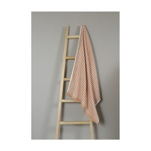 Oranžový bavlněný ručník My Home Plus Bath, 75 x 135 cm