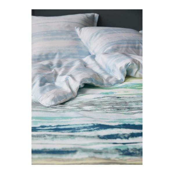 Povlečení Essenza Daya Blue, 200x200 cm