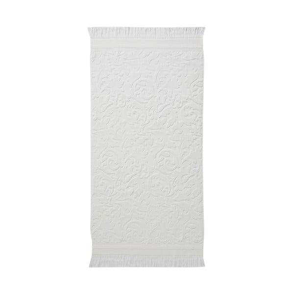 Sada 3 bílých ručníků z organické bavlny Seahorse,60x110cm