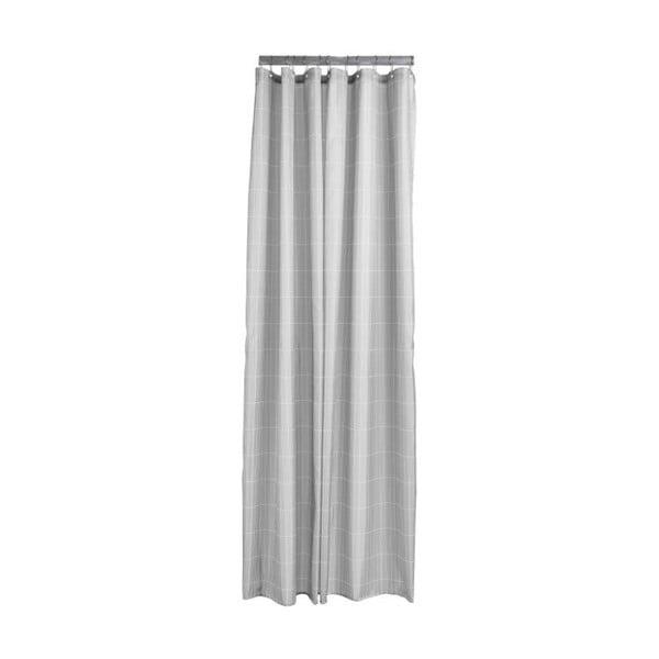 Světle šedý sprchový závěs Zone Tiles, 180 x 200 cm