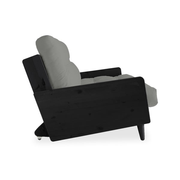 Canapea extensibilă Karup Design Indie Black/Grey