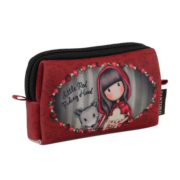 Červená kapsička na zips Gorjuss Little Red Riding Hood
