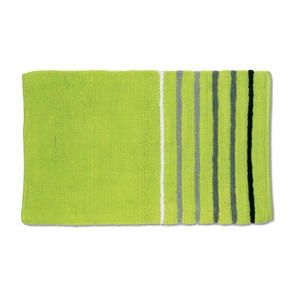 Koupelnová podložka Ladessa, zelená, 60x100 cm