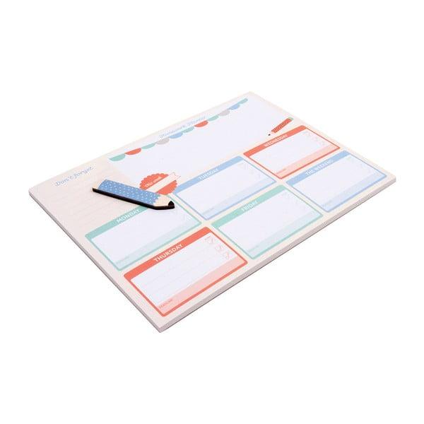 Stolní plánovač Busy B Homework Planner