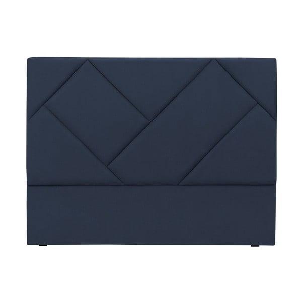 Modré čelo postele HARPER MAISON Annika, 180 x 120 cm