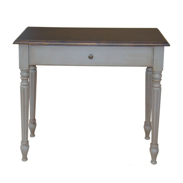 Odkládací stolek s 1 zásuvkou Transilvania Belgique Grey