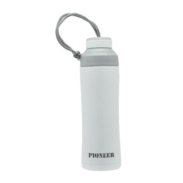 Bílá sportovní lahev Pioneer, 450 ml
