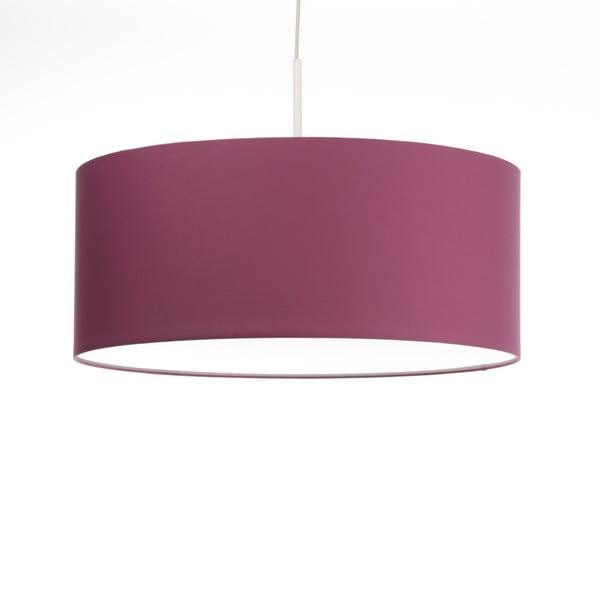 Růžové stropní světlo Artist, variabilní délka, Ø 60 cm