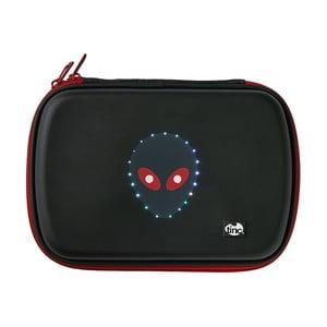 Černý svítící penál TINC GlowGo Alien