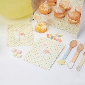 Sada 25 papírových pytlíků na sladkosti Neviti Llama Love