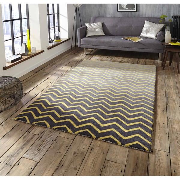 Šedo-žlutý koberec Think Rugs Spectrum Grey Yellow, 120x170cm