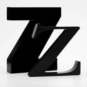 """Malé """"z"""" 13x13 cm, černá"""