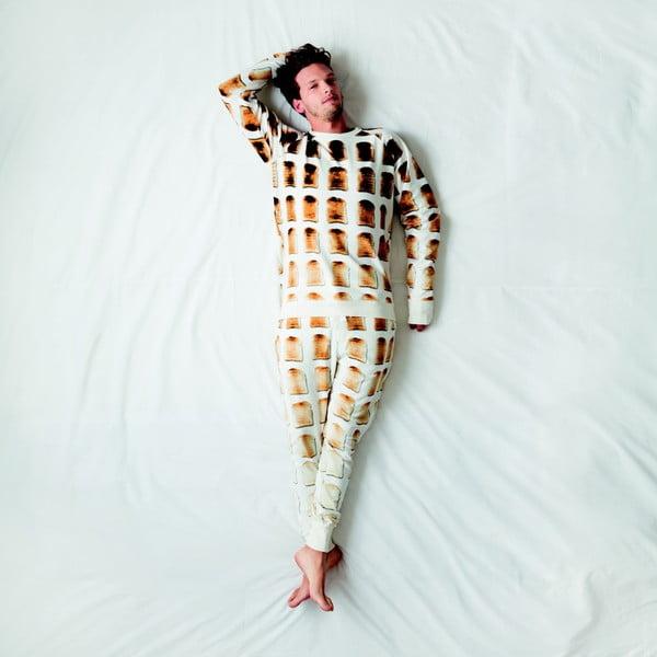 Pánské bílé kalhoty Snurk Toast, vel. S