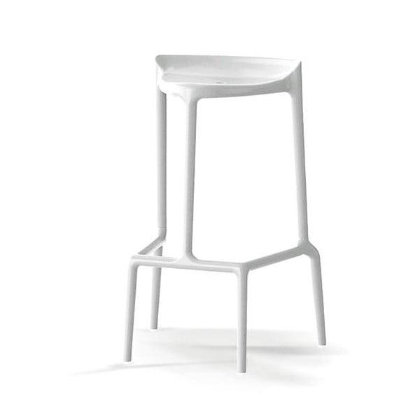 Barová židle Happy 490, bílá