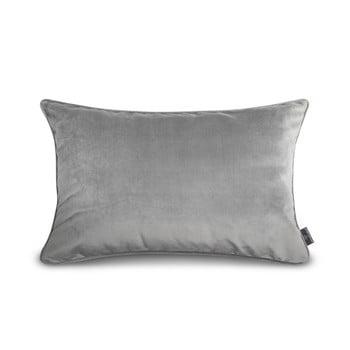 Față de pernă gri WeLoveBeds Silver, 40 x 60 cm de la WeLoveBeds