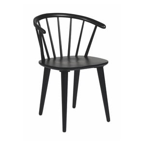 Černá dubová židle Folke  Iddun