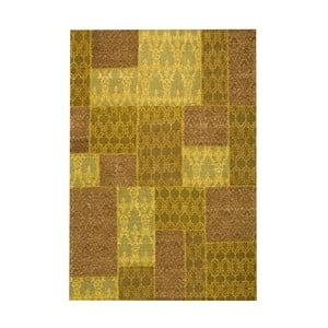 Koberec Patchwork 5 Yellow, 62x124 cm
