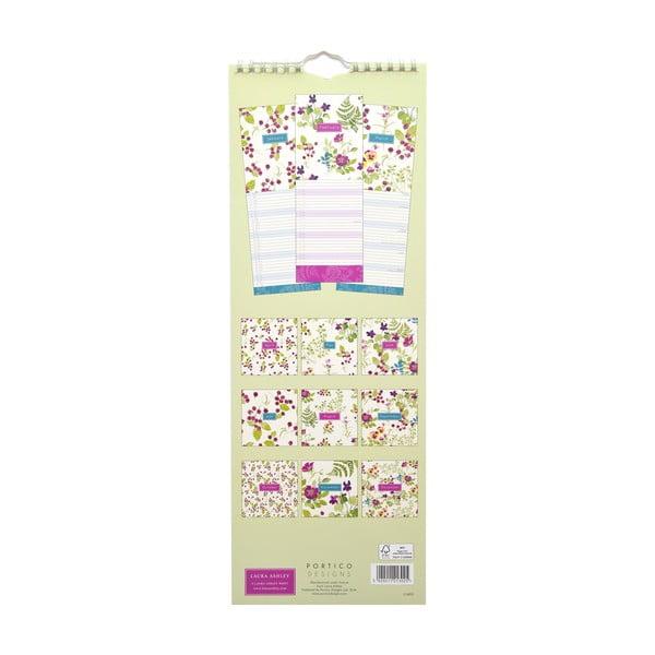 Úzký kalendář Portico Designs Laura Ashley