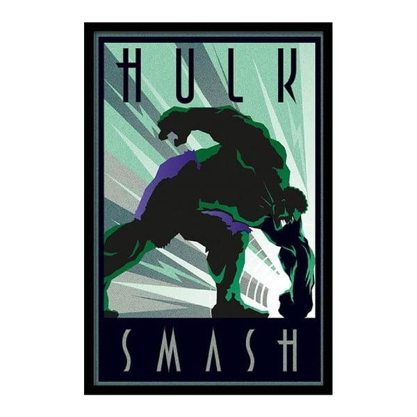 Plakát Hulk Smash, 35x30 cm