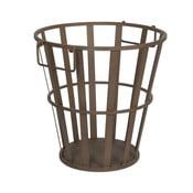 Coș metalic pentru lemne Antic Line, înălțime 41 cm
