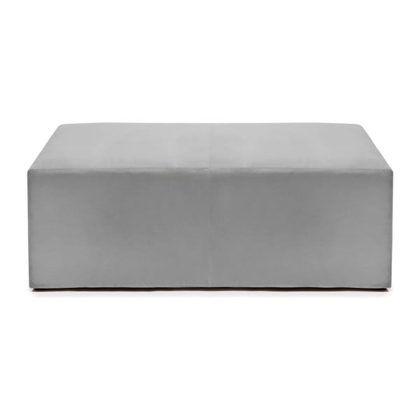 Puf ve stříbrné barvě Vivonita Scarlet