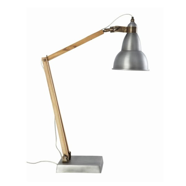 Stolní lampa Basic Grey