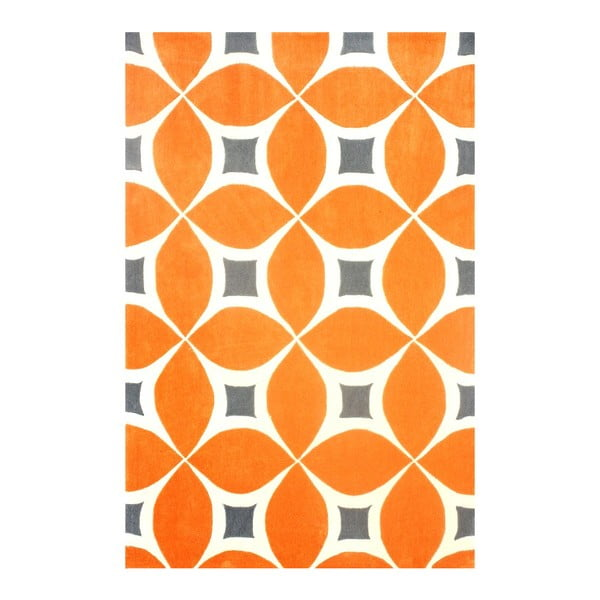 Koberec Deep Orange, 122x183 cm