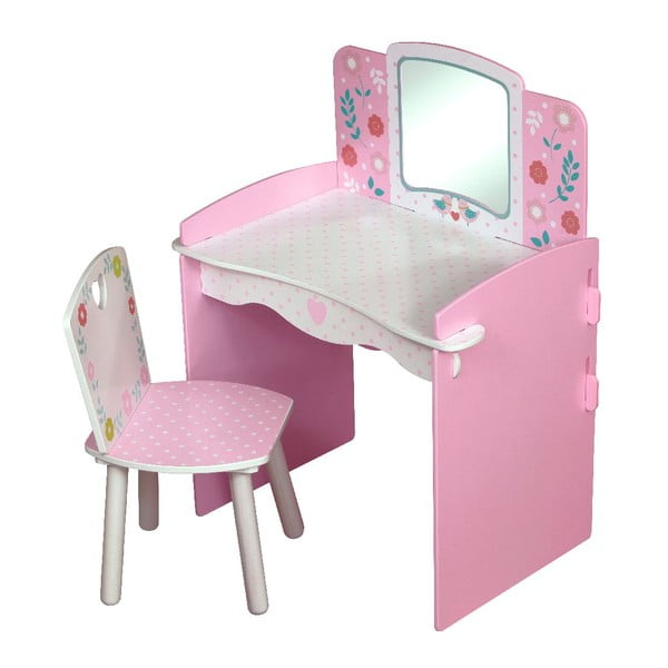 Dětský stolek s židlí Country Cottage