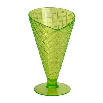 Pahar din plastic Navigate Sundae Cone, verde de la Navigate