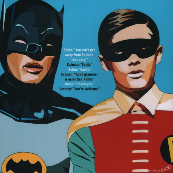Obraz Batman and Robin