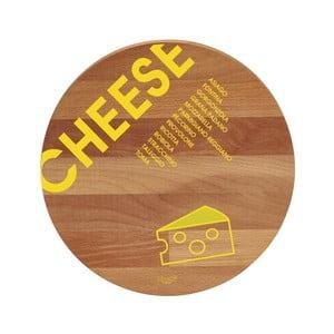 Prkénko z bukového dřeva Bisetti Cheese,30cm