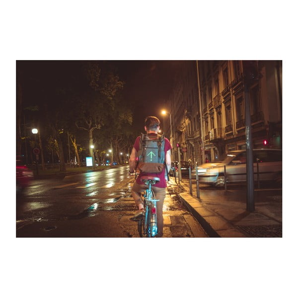 ... Cyklistický batoh se signálovým LED značením MoonRide ... 9f33293c5f