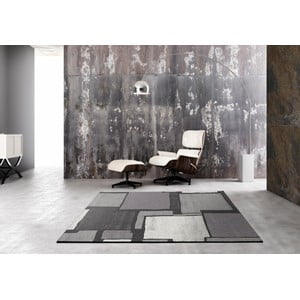 Šedý běhoun Universal Adra, 67 x 300 cm