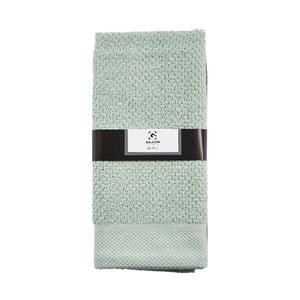 Světle zelený ručník Galzon,100x50cm