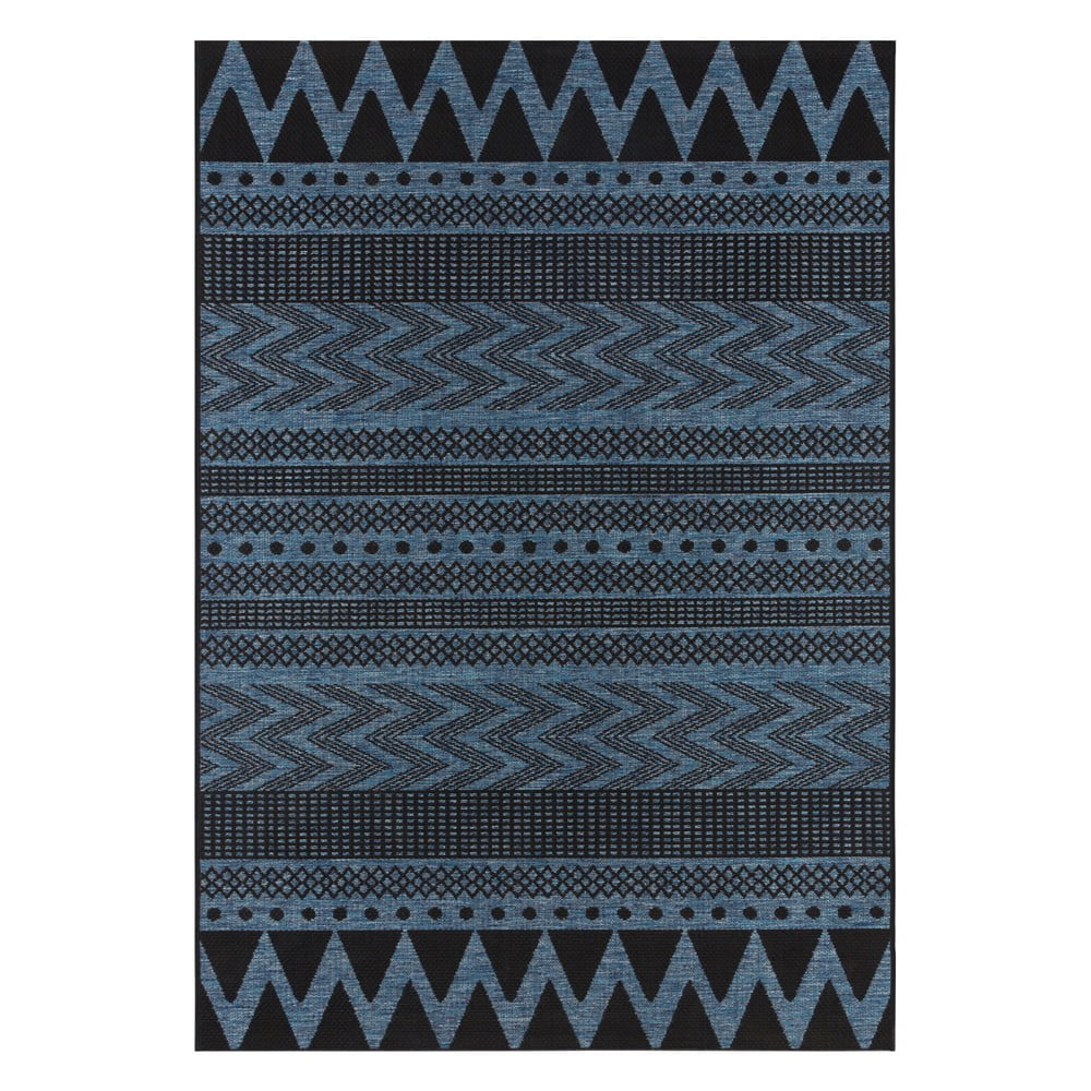Tmavě modrý venkovní koberec Bougari Sidon, 200 x 290 cm