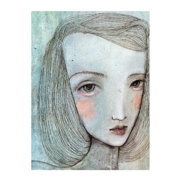 Autorský plakát od Lény Brauner Alice, 46x60 cm